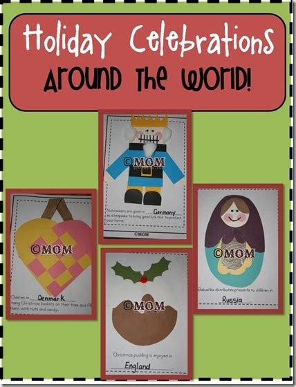 chalk talk a kindergarten blog christmas around the world