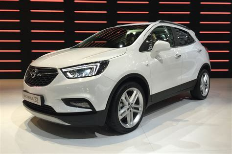 opel mokka vauxhall mokka x revealed a facelift and a name change