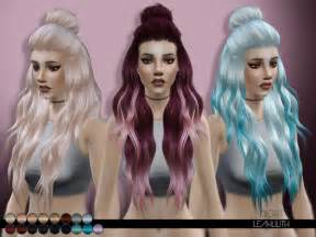 the sims 4 hair night hair by leahlilith at tsr 187 sims 4 updates