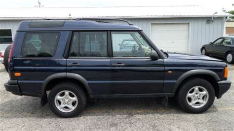 how cars run 1999 land rover discovery series ii parental controls buy used 1999 land rover discovery series ii 7 passengers low miles no reserve in round lake