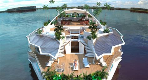 boats ylands dark roasted blend extreme futuristic boats super yachts