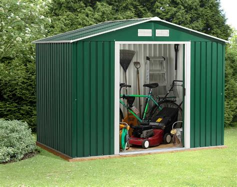 Garden Shed Metal by The Benefits Of A Metal Garden Shed In A Garden Decorifusta