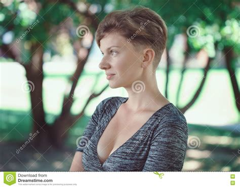 middle age hair cut in dreams portrait of young middle aged white caucasian girl woman