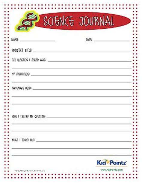 printable journal worksheets journal science worksheet for kids kid pointz