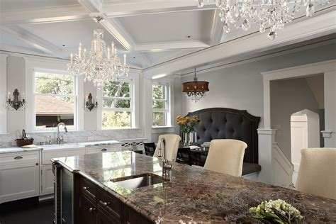 breakfast nook lighting kitchen traditional with banquette benches with backs dining room contemporary with bench