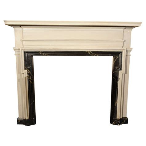 Faux Marble Fireplace Surround american painted and faux marble fireplace surround at 1stdibs