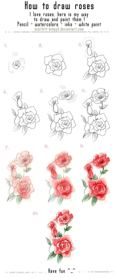 How To Draw A Garden With Flowers How To Draw A Flower Step By Step Image Guides