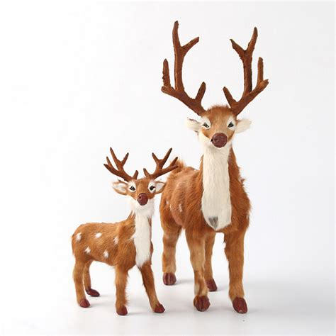 online buy wholesale christmas reindeer figurines from