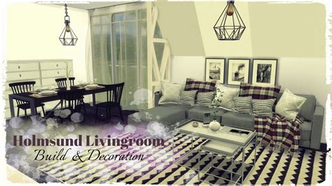 build a living room sims 4 holmsund livingroom build decoration dinha