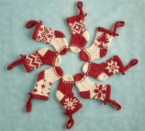 pattern for little christmas stocking little cotton rabbits christmas stockings
