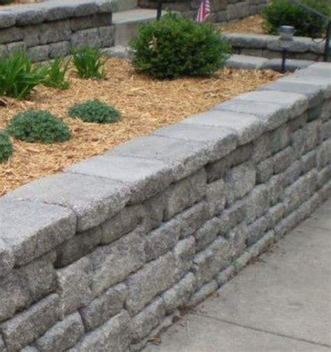 Retaining Wall For Front Yard Outdoor Pinterest Front Garden Retaining Walls