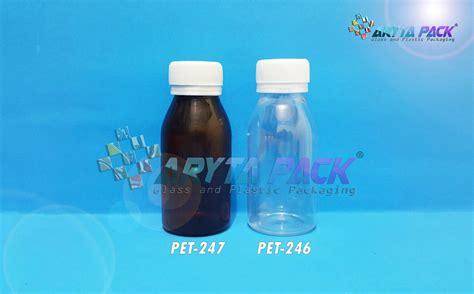 Teh Botol Yang Murah jual botol plastik minuman 60ml kecil coklat tutup segel pet247 harga murah jakarta oleh cv