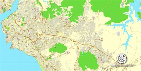 printable map istanbul istanbul turkey printable vector street city plan map in