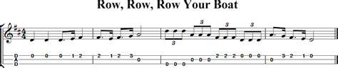 row your boat ukulele tabs row row row your boat dulcimer tab and sheet music