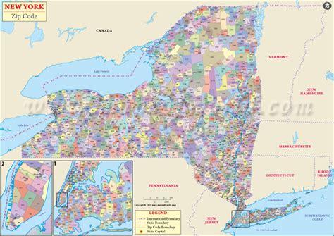 zip code maps nyc buy new york zip code map