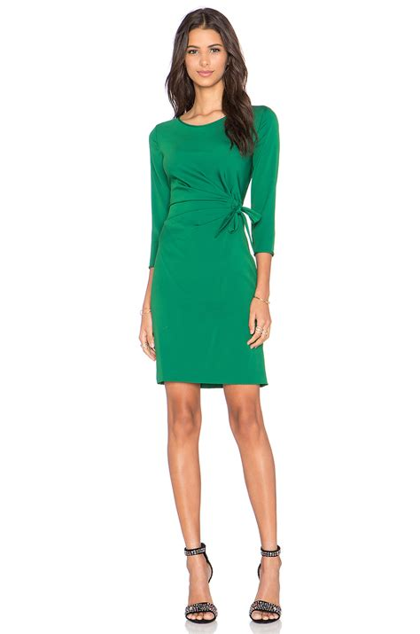 Dvf Dresses by Lyst Diane Furstenberg Zoe Dress In Green