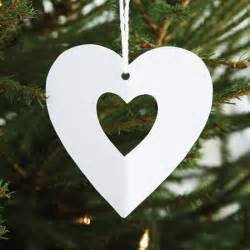 cut out hearts how to make christmas decorations