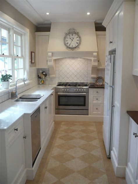 remodelaholic classically beautiful galley kitchen
