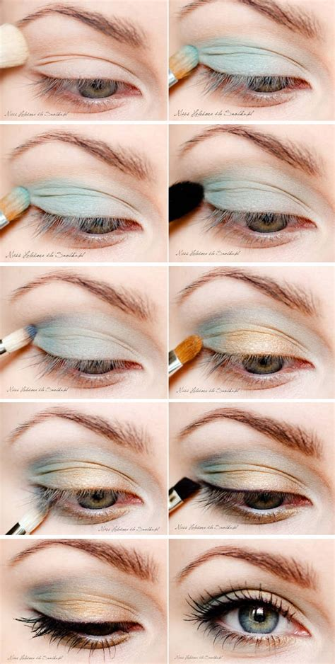 diy blue make up best diy tricks
