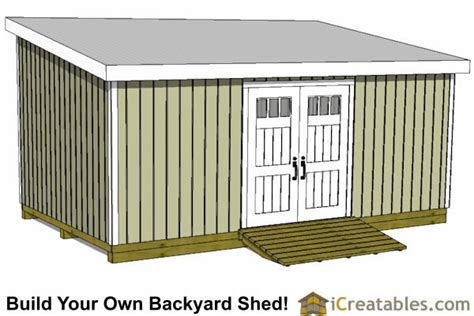 Free Shed Blueprints 12x20 by 12x20 Lean To Shed Plans Build A Large Lean To Shed