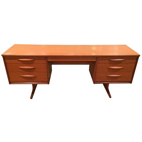 Floating Teak Desk Or Vanity For Sale At 1stdibs Student Desk On Sale