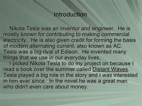 Nikola Tesla Timeline Nikola Tesla