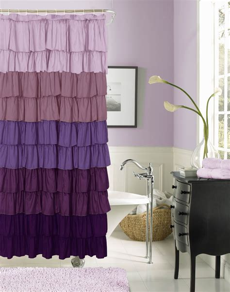 Wacky Shower Curtains Decorating Shower Curtain Closed Bathtub Side Work Her In Purple Bathroom Sets With
