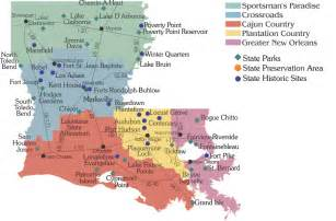 louisiana attractions map calendar of events louisiana state parks