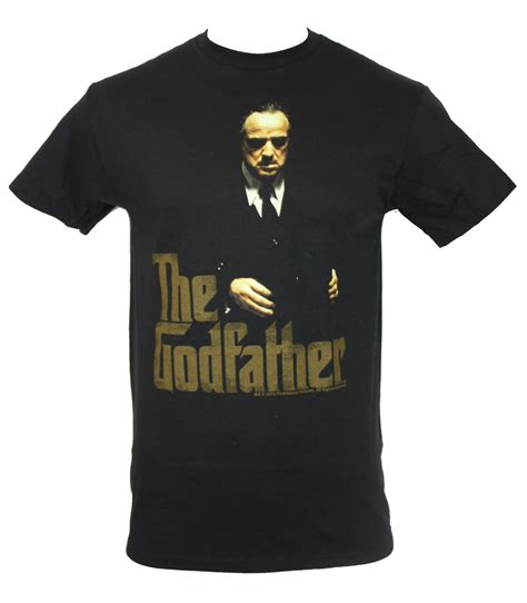 Tshirt The Godfather Gold the godfather mens t shirt classi c poster image