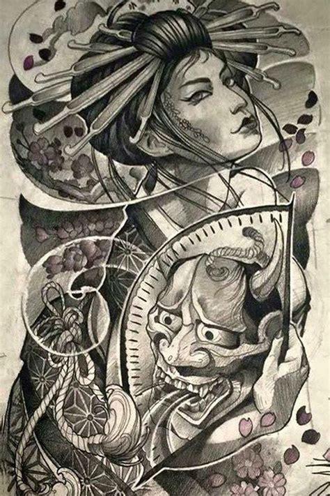 geisha tattoo cultural appropriation f32214a7898f4b5182ebf74f5d51c289 jpg 640 215 960 c 244 gais