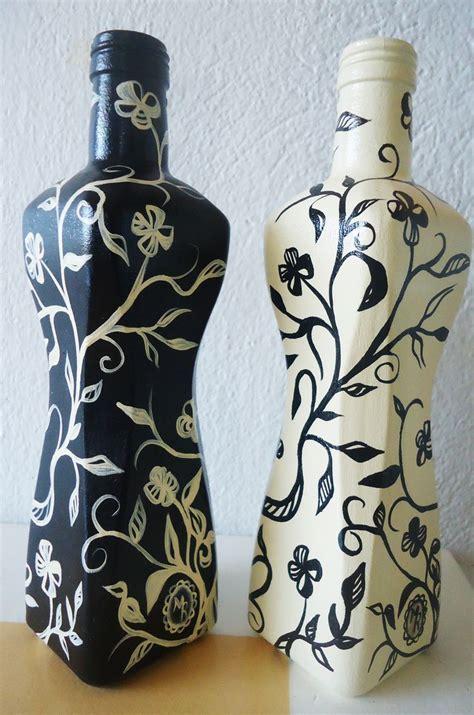 25 melhores ideias de garrafas de vidro decoradas no