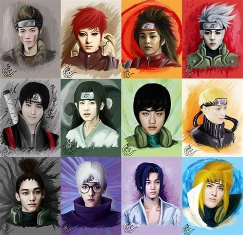 Exo Anime | exo anime my nerdy inner self just gave a squeak of