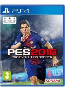 Kaset Ps4 Pro Evolution Soccer 2018 Standard Edition Pes 2018 pes pro evolution soccer 2018 standard edition para