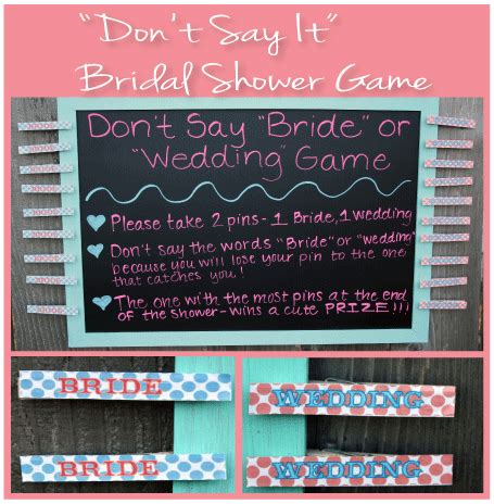 top 10 most bridal shower don t say it bridal shower don t say the words or wedding during the shower or else