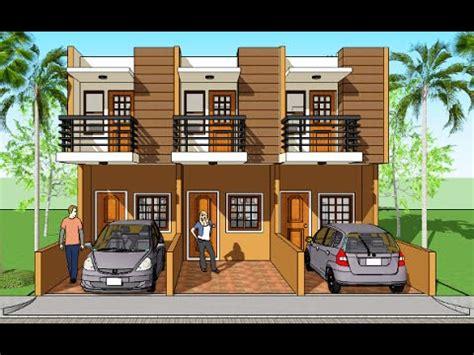 triplex house design triplex house plans and design model marian youtube
