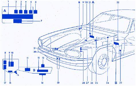 jaguar xjs fuse box wiring diagram