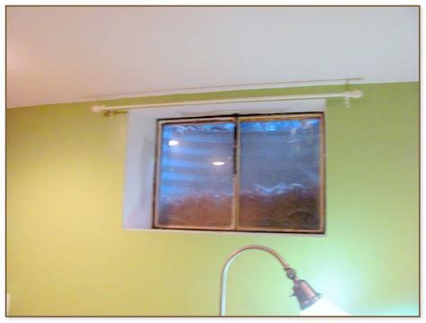 small basement window curtains small basement window curtains