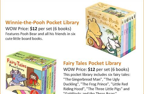 winnie the pooh pocket library 1405276134 world of wonders little library collection c