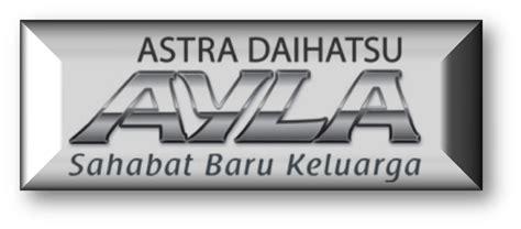 Emblem Varian Mobil Daihatsu Logo M ayla asco daihatsu