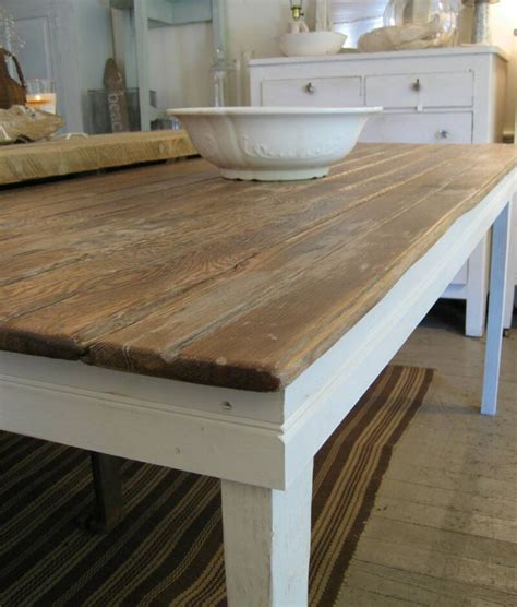 Handmade Farmhouse Table - mignonne handmade farm tables galore