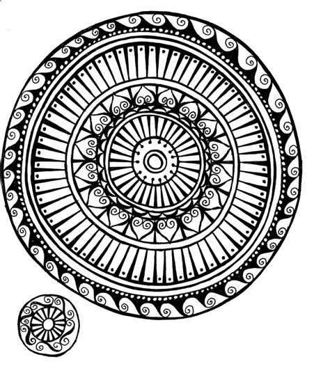 doodle circle of miriam badyrka is the doodler medallion doodles
