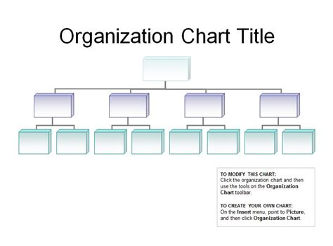 organization powerpoint template organizational