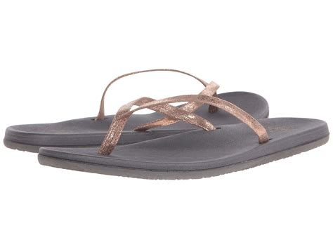 Sandal Stones Tosca Grey freewaters in gray lyst