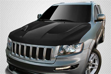 jeep body kits 2018 jeep grand cherokee carbon fiber hood body kit 2011