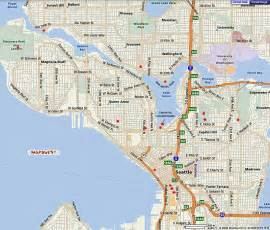 West Seattle Parks Map by Seattle Map Free Printable Maps