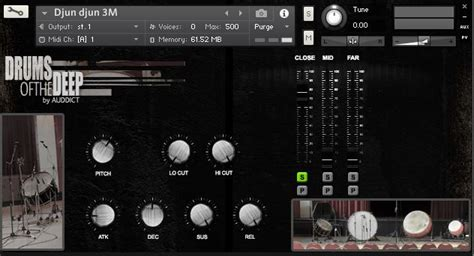 full retail version of kontakt 75 off drums of the deep by auddict