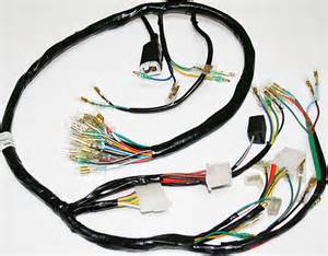 wiring harnesses and charging system parts electrical products vintage cb750 honda cb750