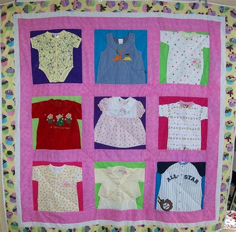 Quilt Patterns Using Baby Clothes by Baby Clothes Quilt Flickr Photo