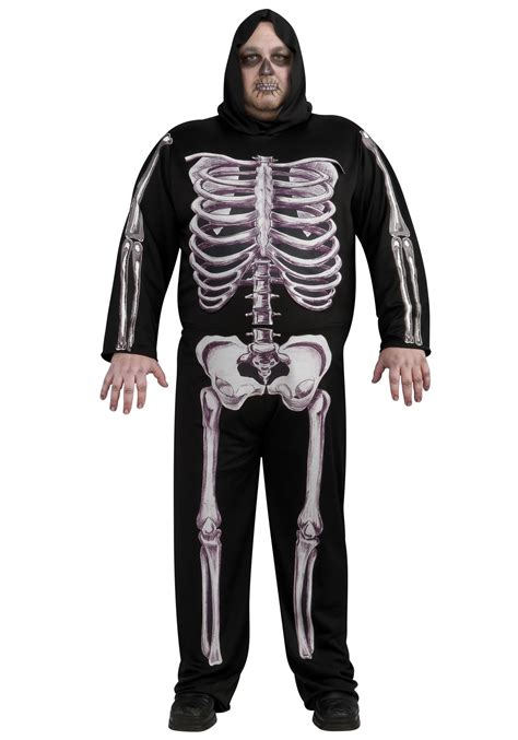skeleton costume plus size skeleton costume