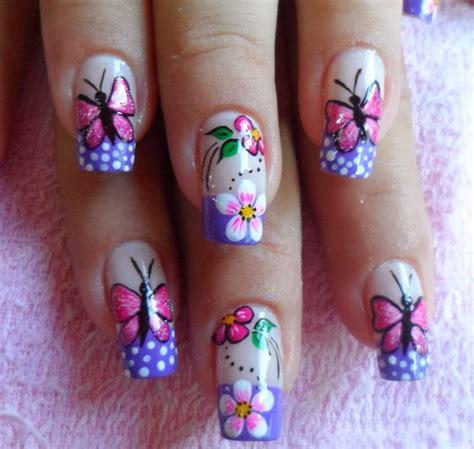 imagenes de uñas pintadas con mariposas decoracion mekaiz u 209 as en gel dise 209 o mariposa